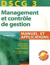 Ucareoutplacement.be Management et contrôle de gestion DSCG3 - Manuel et applications Image