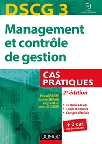 Pascal Fabre et Sabine Sépari - Management et contrôle de gestion.