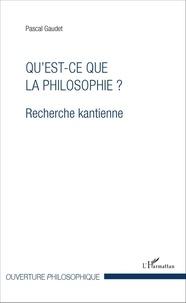 Quest-ce que la philosophie ? - Recherche kantienne.pdf