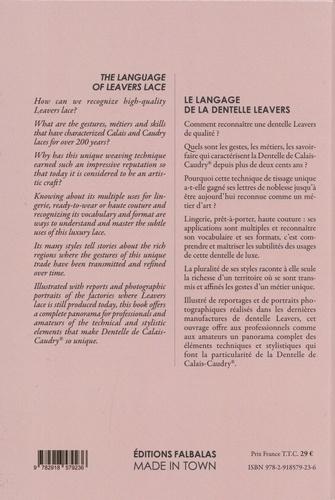 Le langage de la dentelle Leavers. Calais Caudry