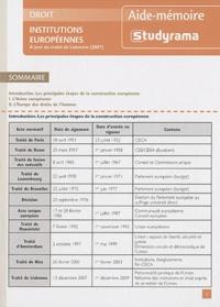 Pascal Geneau - Institutions européennes.