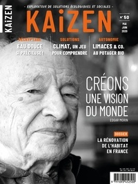 Pascal Greboval - Kaizen N° 50, mai-juin 2020 : Créons une visions du monde.