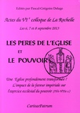 Pascal-Grégoire Delage - Les Pères de l'Eglise et le pouvoir - Une Eglise profondément transformée ? L'impact de la faveur impériale sur l'exercice ecclésial du pouvoir (IVe-VIIe siècle).