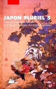 Japon pluriel 5 - Actes du cinquième colloque de la Société française des études japonaises.pdf