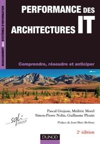 Pascal Grojean et Médéric Morel - Performance des architectures IT - Comprendre, résoudre et anticiper.