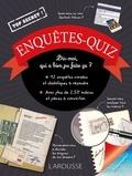 Pascal Guichard et Michèle Lecreux - Enquêtes-Quiz - 12 enquêtes diaboliques à résoudre.