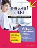 Pascal Hallouët - Toute l'année 1 du D.E.I. Le cahier de l'étudiant infirmier - 20 UE : Les cours - Les méthodes - Les stages - Les entraînements corrigés.