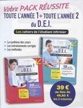 Pascal Hallouët - Votre Pack Réussite Toute l'année 1 et 2 pour le D.E.I - Pack en 2 volumes, Les cahiers de l'étudiant infirmier.