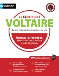 Pascal Hostachy - Le certificat Voltaire - Ecrit et validé par les concepteurs du test.