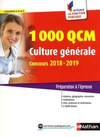Pascal Joly - 1000 QCM culture générale, catégories A, B, C - Préparation à l'épreuve.