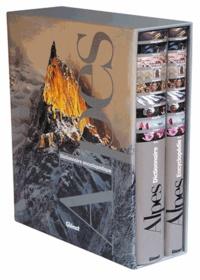 Pascal Kober et Dominique Vulliamy - Dictionnaire encyclopédique des Alpes en 2 volumes.