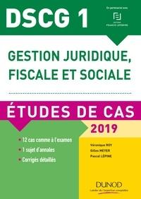 DSCG 1 - Gestion juridique, fiscale et sociale - 2019 - Etudes de cas.