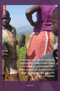 Pascal M. Isumbisho et Pascal Sanginga - Vers une bonne gouvernance des ressources naturelles dans la région des Grands Lacs africains.