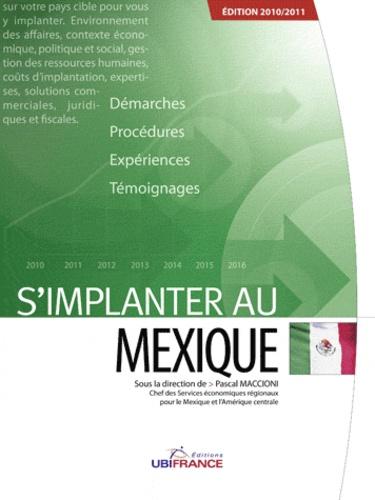Pascal Maccioni - S'implanter au mexique.