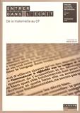 Pascal Maillot - Entrer dans l'écrit - De la maternelle au CP.