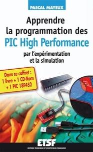 Pascal Mayeux - Apprendre la programmation des PIC High Performance par l'expérimentation et la simulation - PIC 18F4520. 1 Cédérom