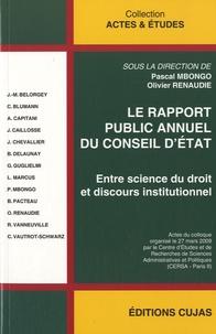 Le rapport public annuel du Conseil d'Etat- Entre science du droit et discours institutionnel - Pascal Mbongo |