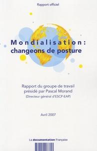 Pascal Morand - Mondialisation : changeons de posture.