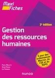 Pascal Moulette et Olivier Roques - Maxi Fiches - Gestion des ressources humaines - 3e éd..