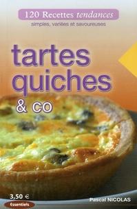 Pascal Nicolas - Tartes Quiches & Co.