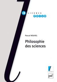 Pascal Nouvel - Philosophie des sciences.