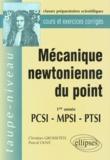 Pascal Olive et Christian Grossetête - Mécanique newtonienne du point - 1re année, PCSI, MPSI, PTSI.