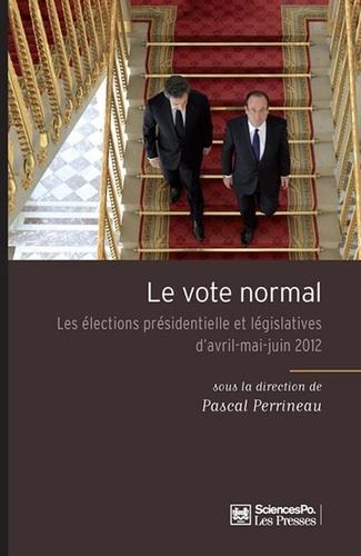 Pascal Perrineau - Le vote normal.