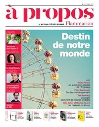 Pascal Picq et Mickaël Launay - À propos (N°5) - l'actualité des essais Flammarion.