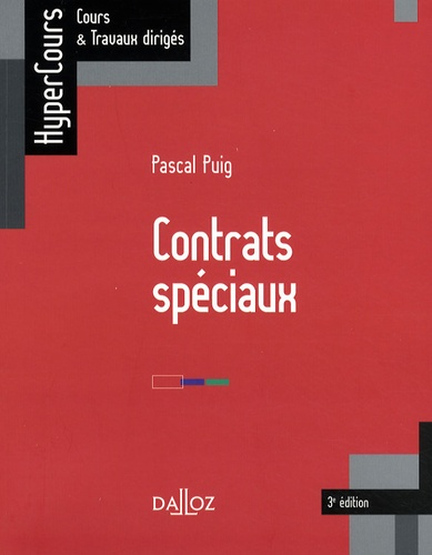 Contrats spéciaux 3e édition