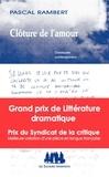 Pascal Rambert - Clôture de l'amour.