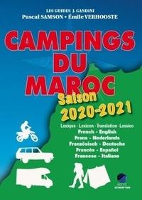 Pascal Samson et Emile Verhooste - Campings du Maroc - Guide critique.