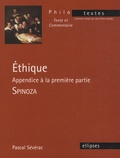 Pascal Sévérac - Ethique - Appendice à la première partie - Spinoza.