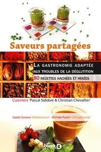 Alixetmika.fr Saveurs partagées - La gastronomie adaptée aux troubles de la déglutition - 80 recettes hachées et mixées Image