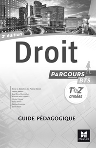 Droit BTS 1re et 2e années Parcours - Guide pédagogique.pdf
