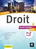 Pascal Simon et Olivier Hannart - Droit BTS 1re et 2e années - Manuel de l'élève.