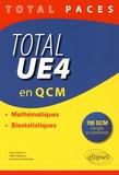 Pascal Staccini et Gilles Maignant - Total UE4 en QCM - Mathématiques, biostatistiques.