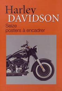 Pascal Szymezak - Harley Davidson - Seize posters à encadrer.