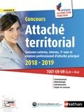 Pascal Tuccinardi et Joëlle Gauthier - Concours Attaché territorial catégorie A - Tout-en-un Ecrit + Oral.