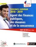 Pascal Tuccinardi - Concours commun Agent des finances publiques, des douanes et de la concurrence, catégorie C - Tout-en-un Ecrit + Oral.