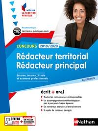 Pascal Tuccinardi et Léonard Mango - Concours rédacteur territorial et rédacteur principal catégorie B - Concours externe, interne et 3e voie, examens professionnels.