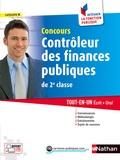 Pascal Tuccinardi et Philippe Margenti - Contrôleur des finances publiques de 2e classe - Tout-en-un Ecrit + Oral.
