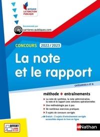 Pascal Tuccinardi - La note et le rapport - Concours catégorie A et B.