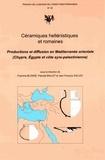 Pascale Ballet - Céramiques hellenistiques et romaines.
