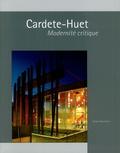 Pascale Blin - Cardete-Huet - Modernité critique.