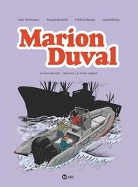 Yvan Pommaux - Marion Duval intégrale, Tome 08 - La reine éternelle - Balactica - Le trésor englouti.