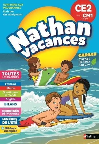 Nathan Vacances Du CE2 vers le CM1 8/9 ans  Edition 2018