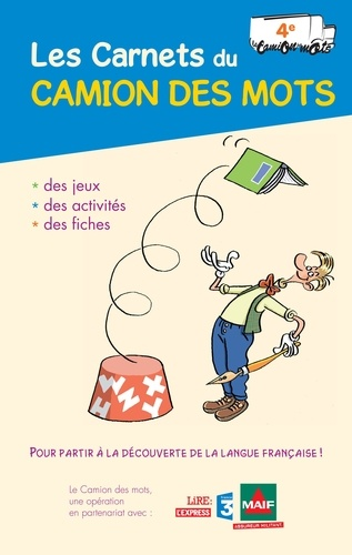 Pascale Cheminée - Les Carnets du Camion des mots 4e.