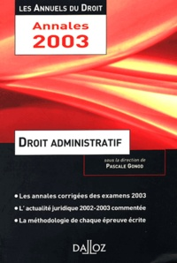Pascale Gonod - Droit administratif.