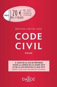 Pascale Guimard et Xavier Henry - Code civil annoté 2020.