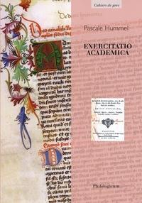 Pascale Hummel-Israel - Exercitatio academica.